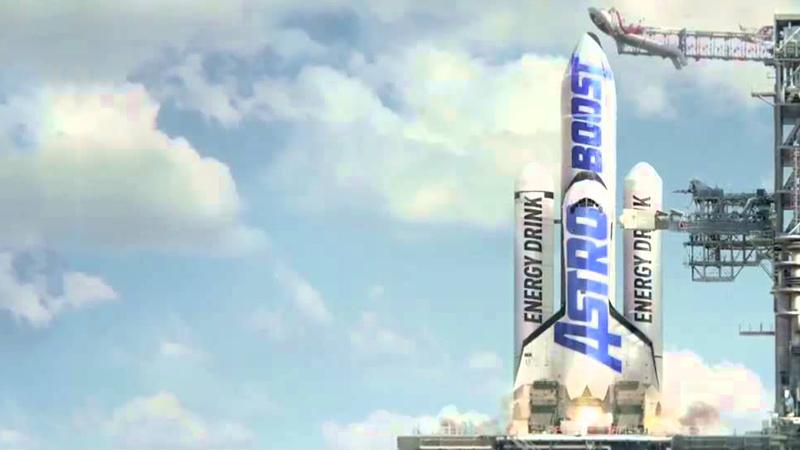 Standbild aus Video: Rakete auf Startrampe